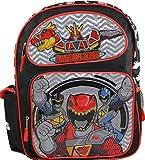 "Power Rangers Dino Charge Boys 16"" School Large Backpack Bag"