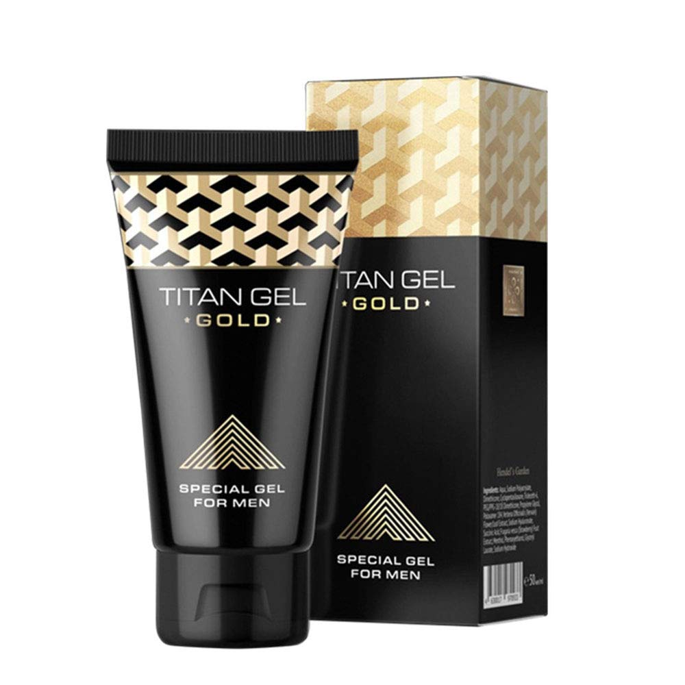 Image of AOLUNO Titan Gel Enlargement Cream Russian Gold Edition Herbal Thickening