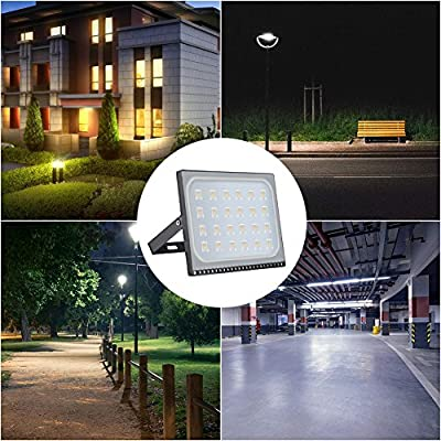 150W LED Blanco cálido IP67 impermeable Foco Proyector Reflector ...
