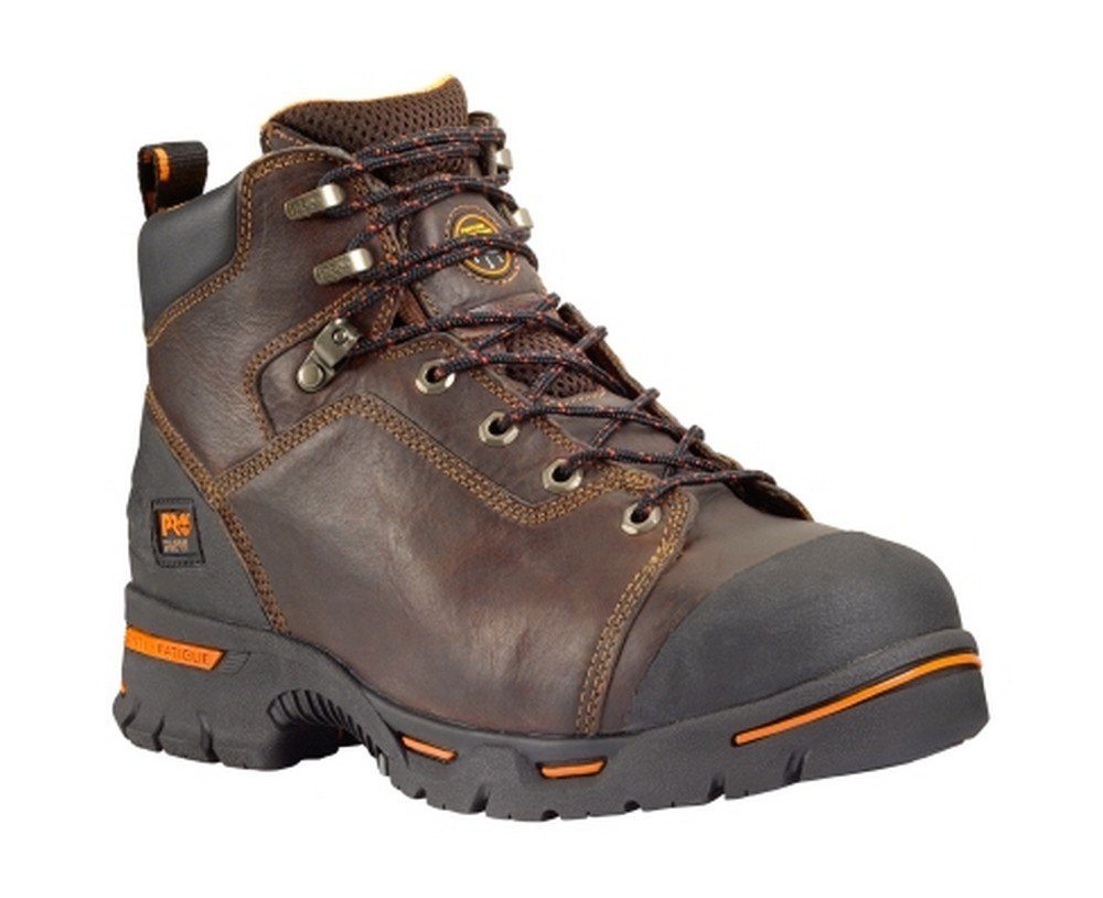 Timberland PRO 52562 Men's Endurance 6-in Titan XL ST PR Boot Briar 6 W US Brown