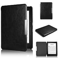 Capa para Kindle Paperwhite (todas as edições) - Rígida - Fecho Magnético - Hibernação - Várias Cores (preto)
