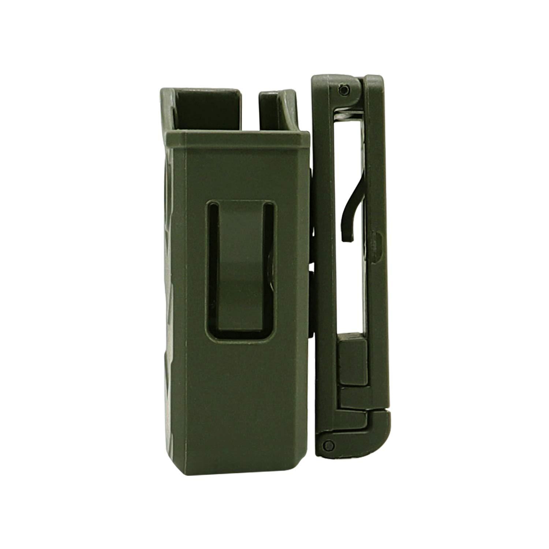 efluky Portacargador Funda para Pistola Cargador Bolsa Universal Portacargador Doble para H/&K USP FS//Compact 9mm//.40//Beretta//Golck 17 19//CZ 75//Walther P99//Sig Sauer p226