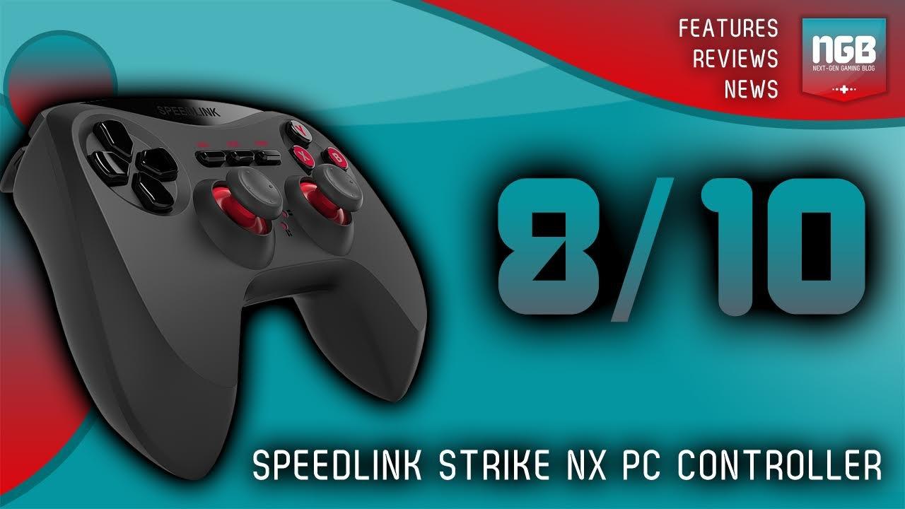 Speedlink Strike NX USB Gamepad for PC Black SL-650000-BK