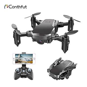 Conthfut 1 Drone C16W WiFi FPV Quadcopter con cámara 720P Mobile ...