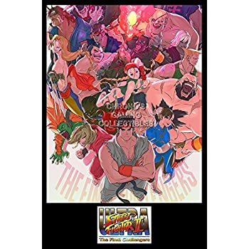 CGC Huge Poster - Ultra Street Fighter II The Final Challengers Nintendo Switch - EXT697 (24