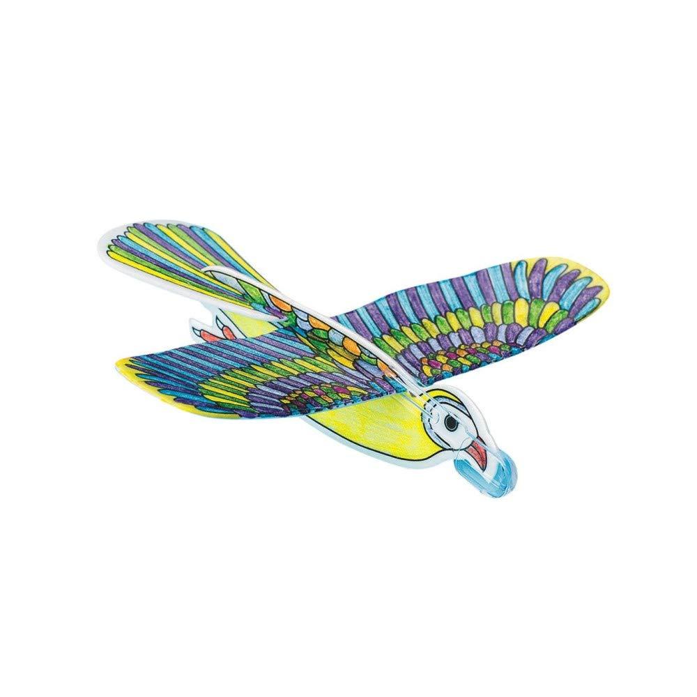 Foam Bird Gliders S/&S Worldwide Education CF-1290
