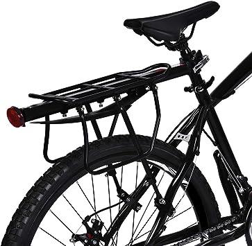 Zerone portaequipajes Trasero para Bicicleta (Aluminio ...