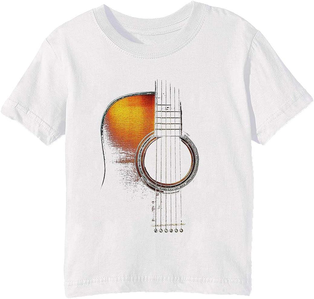 Color Acústico Guitarra Hi-Lite Niños Unisexo Niño Niña Camiseta ...