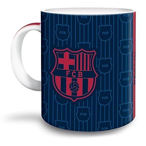 FC Barcelona Taza de café Escudo Barca Porcelana Taza Fan Artículo.