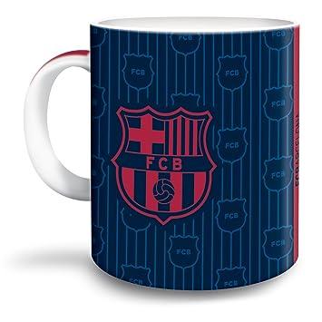 0205a936e7788 FC Barcelona Taza de café Escudo Barca Porcelana Taza Fan Artículo ...