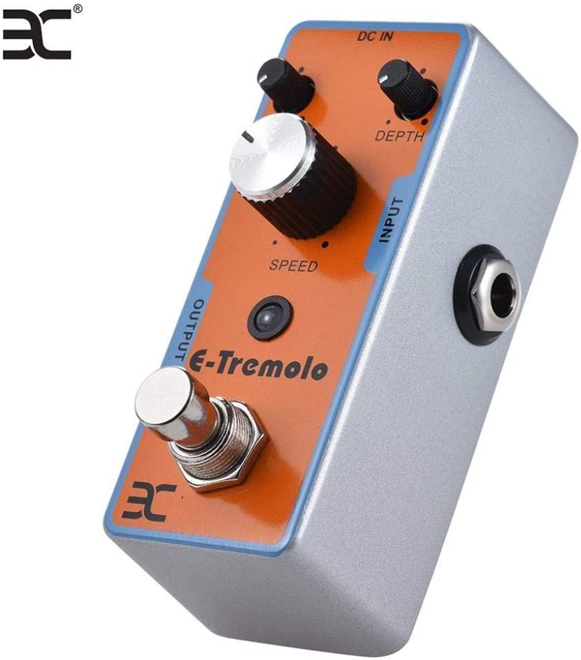 Guitar Effector Pedal de efecto Tremolo Pedal de efecto de ...