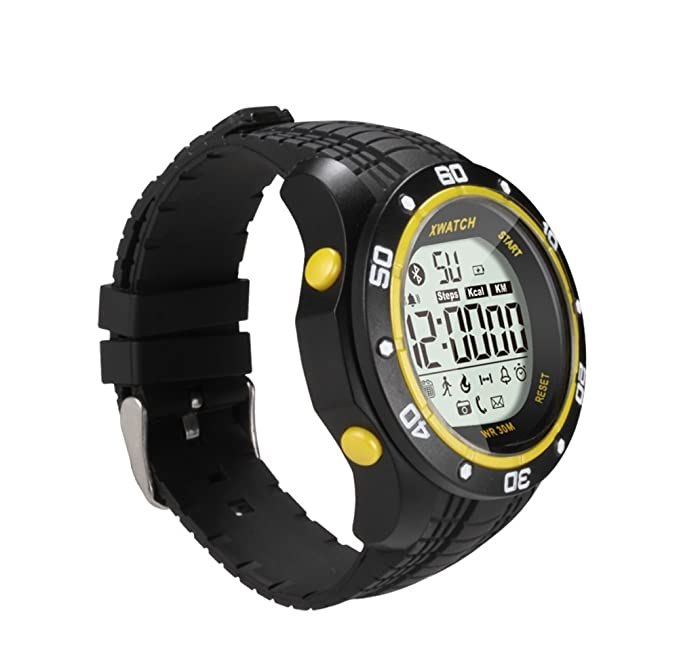 VOSMEP Reloj Inteligente Smartwatch Sport Bracelet Pulsera Deportiva Smart Bracelet Pulsera Inteligente soporte Facebook SMS Podómetro Consumo de ...