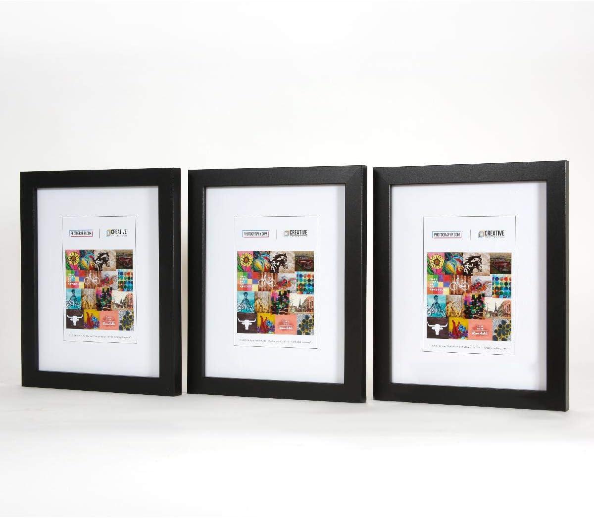 Charcoal Black 8 x 10 size Frames Wholesale Bulk Lots Bundle good for Photo Picture prints Poster Canvas Wall Art Display Decoration
