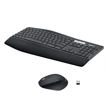 Logitech MK850 Performance Bluetooth QWERTZ Alemán Negro - Teclado (Bluetooth, Universal, QWERTZ,
