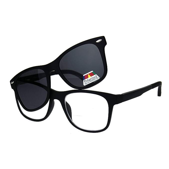 Amazon.com: Gafas de sol polarizadas con clip magnético para ...