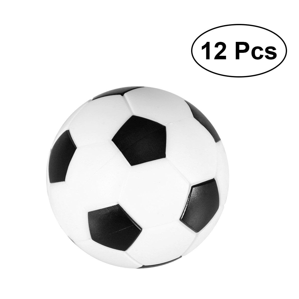 VORCOOL Mesa de futbolín 12pcs 36MM Foosball Reemplazo Blanco y ...