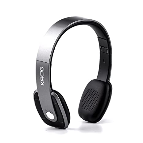 KACIG Cuffie Bluetooth Over Ear Pieghevole Cuffie Stereo Stereo Hi-Fi  Ultra-sottile con 87c4ca197f30