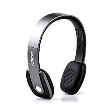 KACIG Auriculares Bluetooth Sobre la Oreja Auriculares Estéreo Inalámbricos Hi-Fi de Alta Fidelidad Plegables