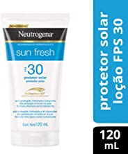 Protetor Solar Sun Fresh FPS 30, Neutrogena, Branco, 120Ml