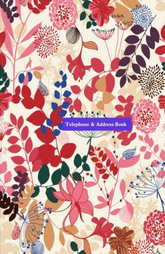 Telephone & Address Book Paperback – Large Print, 4 Apr 2014 Northrup Press 1497544599 Reference Novelty