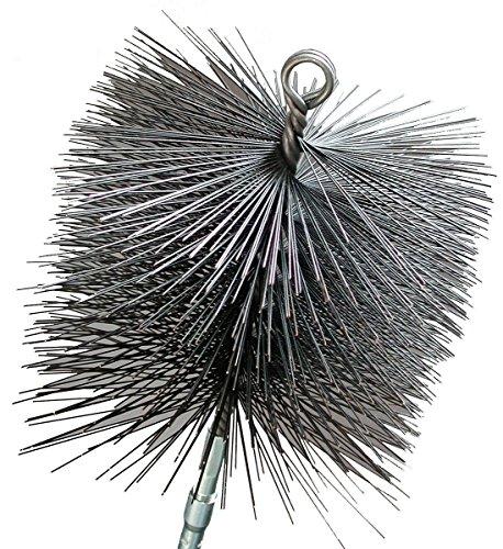"""Imperial Mfg BR0183 Round 6"""" Premium Wire Chimney Cleanin..."""