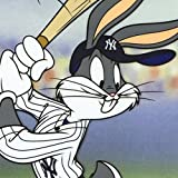 """Bugs Bunny at Bat for the Yankees"" Limited Edition Sericel with COA"