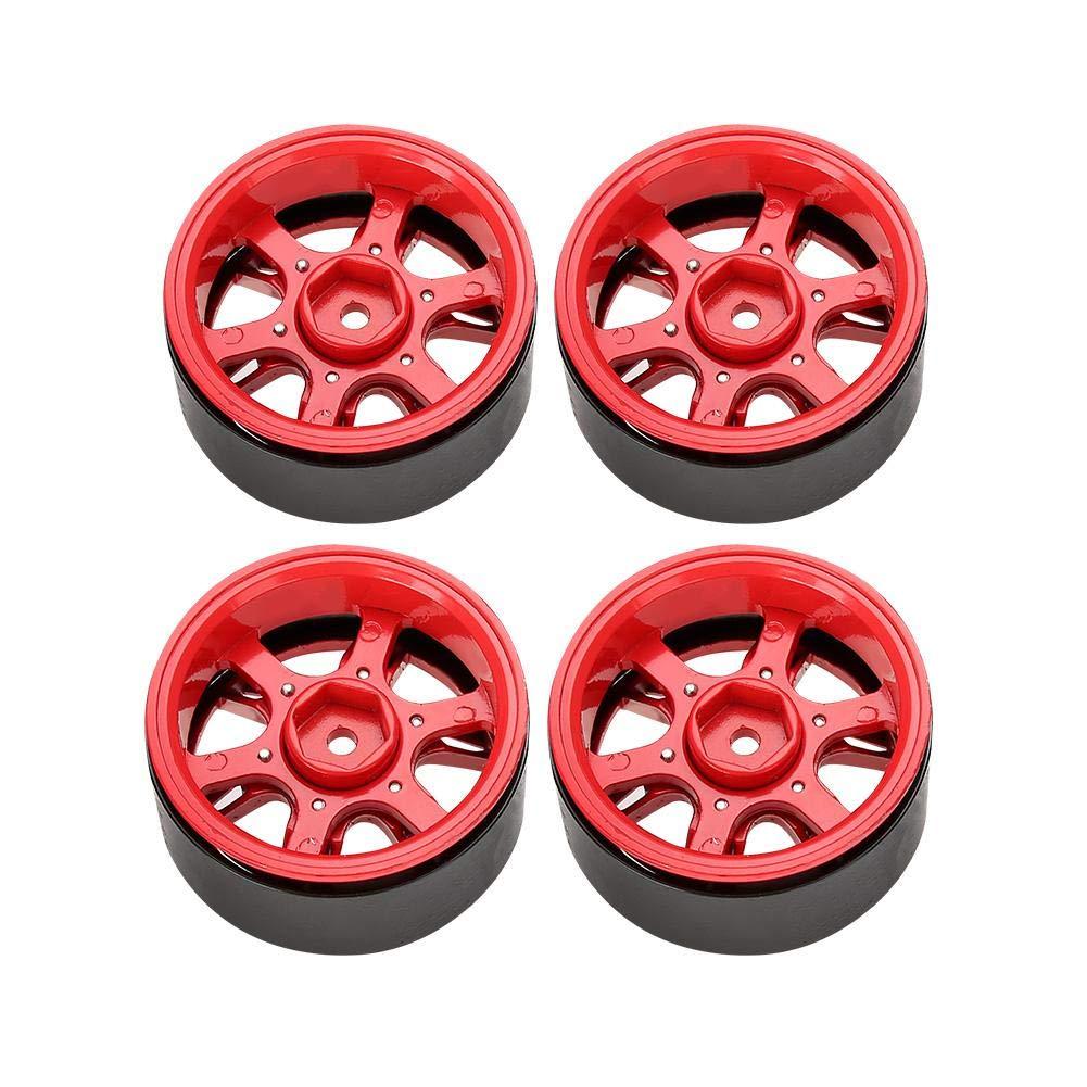 Rc Coche Wheel Cubos Rim Hub 4 Pcs Simulacion Cubos Wheel De Llanta