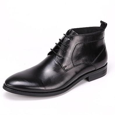 Arcyll Mens Semi Brogu Cowhide Chukka Boot  B01D55LY06