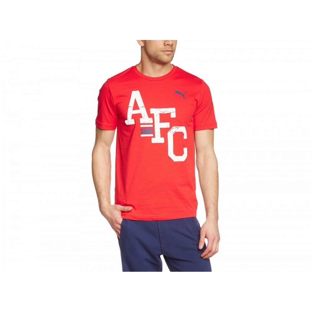 Arsenal FC Official Mens Puma AFC T-Shirt UTBS938_2