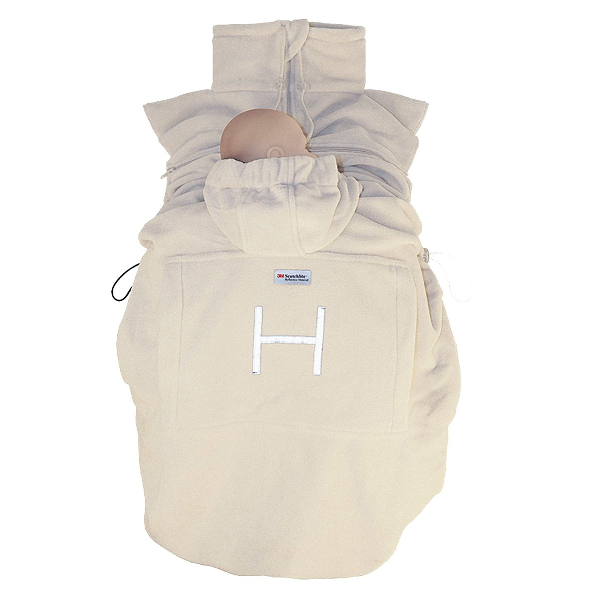 Hoppediz–-Sacca Basicin pile –sacco da trasporto per bambino, caldo porta-bebè fs-san