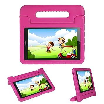 Funda ligera con soporte para niños para Huawei Honor Play Pad 2 de 8 pulgadas y MediaPad T3 8 de 8 pulgadas, de goma EVA contragolpes original con ...