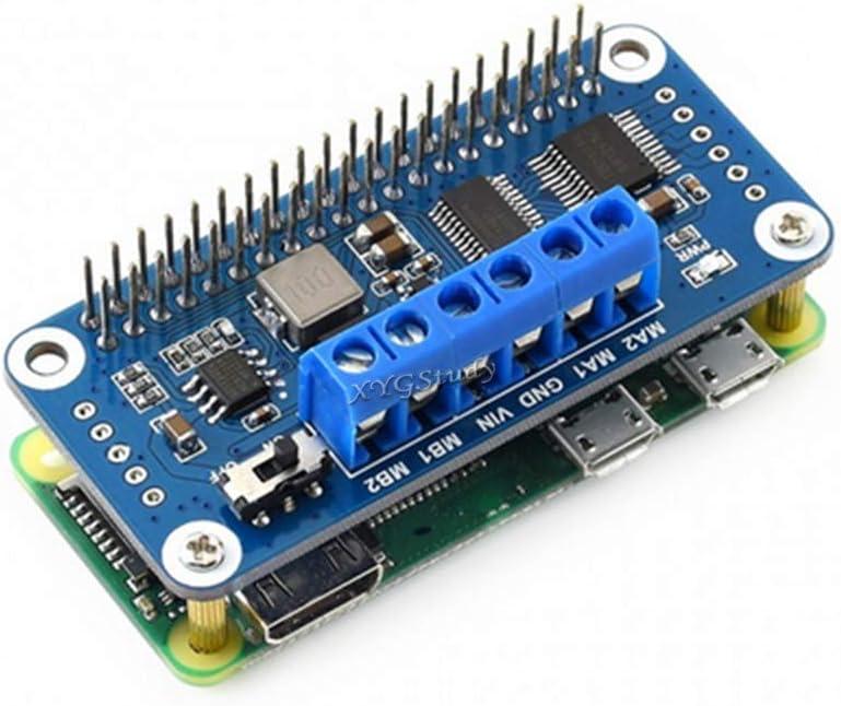 Motor Driver HAT I2C Interface for Raspberry Pi 4 3 2 Zero W WH Model B B @XYGStudy