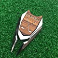 GRANDPA Engraved Golf Gift Divot Tool and Ball Marker in Teak Wood - Dad Personalized Gift, Dad Birthday Gift, Gift for Dad, Gift for Him Father's Day Grandfather Granddad Gift