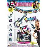Forum Novelties 80s Party Decorating Kit (10 Piece Set), Multi