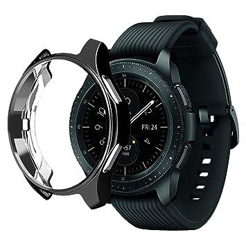 Wengerui Protector Funda para Galaxy Watch 42mm, TPU Suave ...