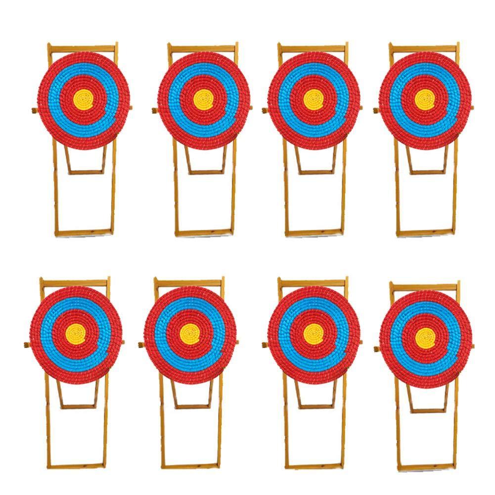 Kbsin212 Bogenschie/ßen Stroh Ziel Selbstheilend Single Layer Ziele Stoppfeile Sofort 55x55x2cm Bogen Jagdpfeile Zielpapier F/ür Schie/ß/übungen
