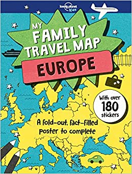 Buy My Family Travel Map Europe Lonely Planet Kids Book Online
