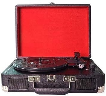 Tocadiscos Retro Record Player con Altavoces estéreo ...