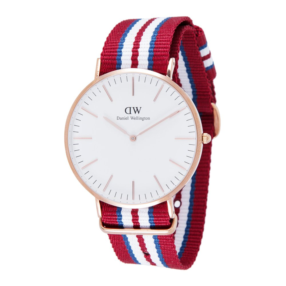 Reloj para hombre al cuarzo Daniel Wellington Exeter Rose Gold 0112DW: Amazon.es: Relojes