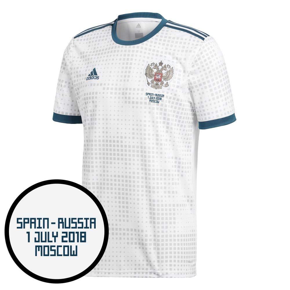 Player Print - adidas Performance Russland Away Trikot 2018 2019 inkl vs Spanien WM Druck