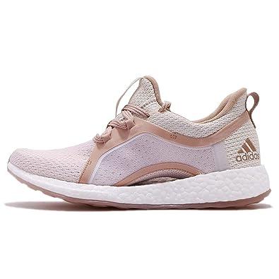adidas Women's Pureboost X Clima, Off WhiteASH PearlOrchid