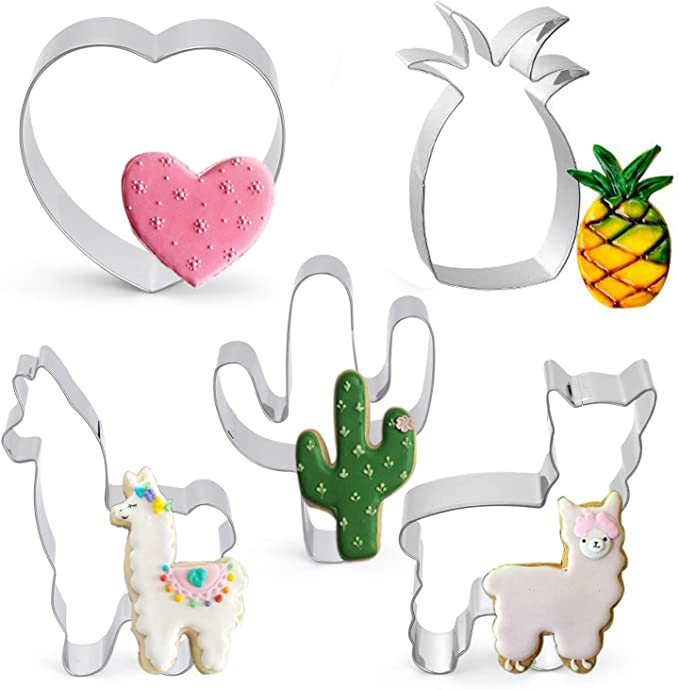 Party Supplies Cactus Shaped Grade Stainless Steel Cookie Cutter Lin