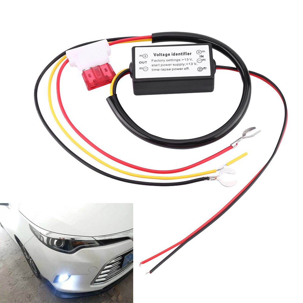 12-18V LED DRL Controller Auto Car LED Daytime Running Lights Relay Dimmer Switch ON//OFF