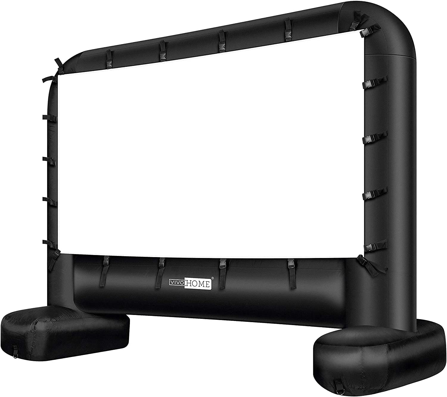VIVOHOME 17 Feet Indoor/Outdoor Inflatable Movie Projector Screen with Carry Bag