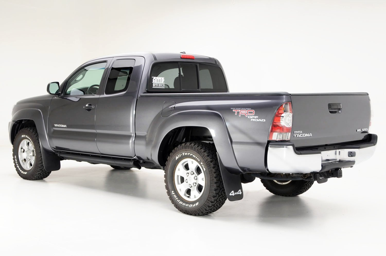 AMP Research 75142-01A PowerStep Electric Running Boards for 2005-2015 Toyota Tacoma with Double Cab