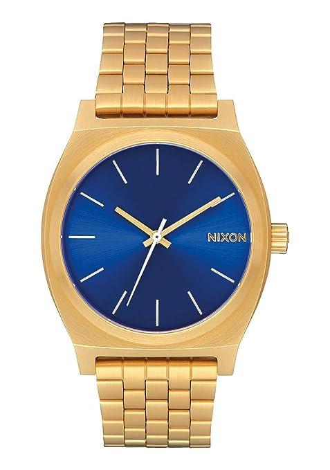più economico 6a64a d20bc Nixon Time Teller -Fall 2017- All Gold / Blue Sunray