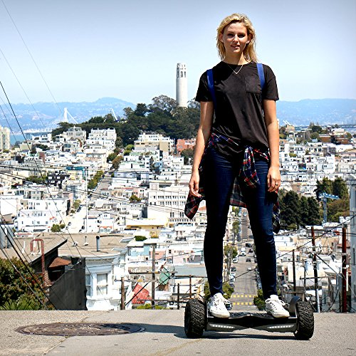 "EPIKGO Self Balancing Scooter Hover Self-Balance Board - UL2272 Certified, All-Terrain 8.5"" Alloy Wheel, 400W Dual-Motor, LG Battery, Board Hover Tough Road Condition [Classic Series, Space Grey]"