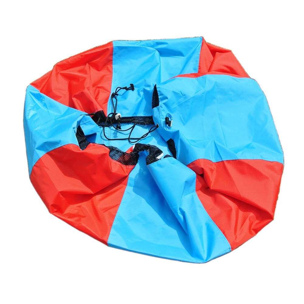 MLTS Paraglider Quick Paking Bag Heavy Duty Paragliding Fast Stuff Sack Paragliding Paramotor PPG (Red, Small) by MLTS