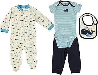 Carters Baby Boys 4 Piece Layette Set