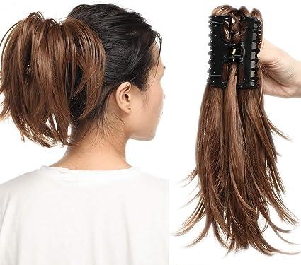 coda di capelli veri
